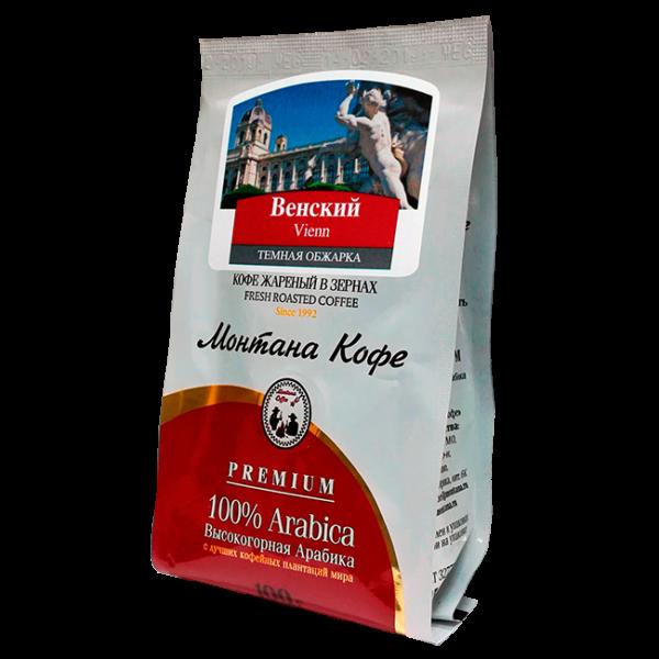 Кофе Монтана Венский кофе 100 гр (в зернах) Монтана кофе