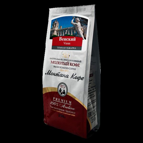 Кофе Монтана Венский кофе 250 гр (крупный помол) Монтана кофе