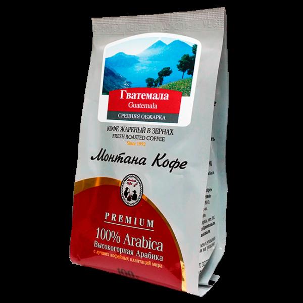 Кофе Монтана Гватемала 100 гр (в зернах) Монтана кофе