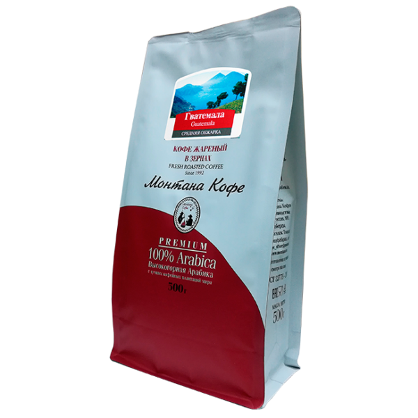 Кофе Монтана Гватемала 500 гр (в зернах) Монтана кофе