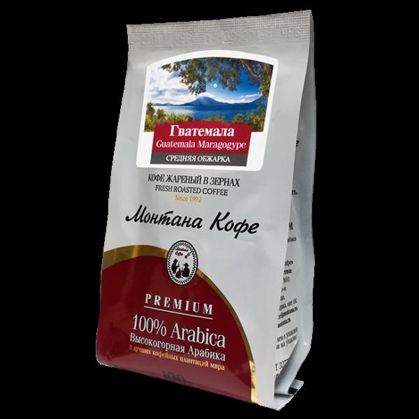 Кофе Монтана Гватемала марагоджип 100 гр (в зернах) Монтана кофе
