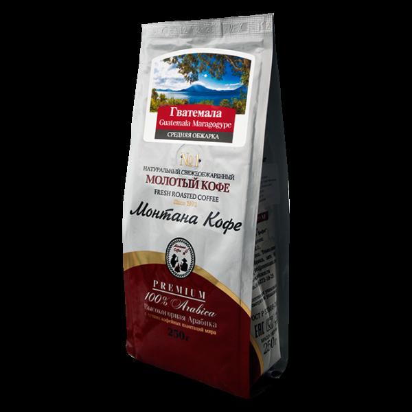 Кофе Монтана Гватемала марагоджип 250 гр (крупный помол) Монтана кофе