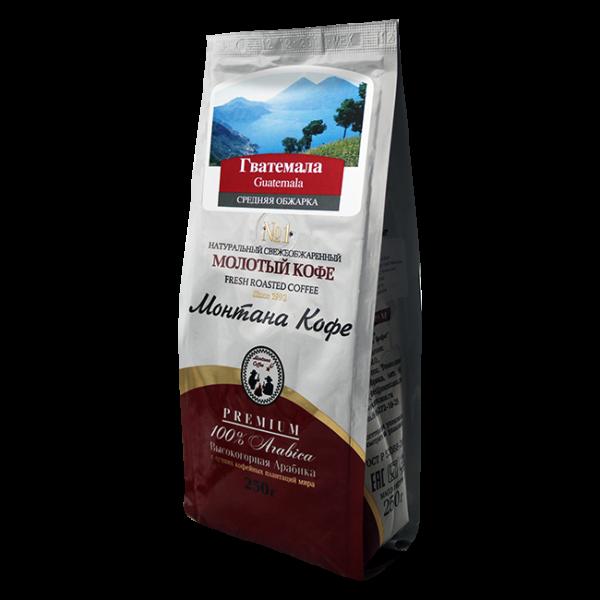 Кофе Монтана Гватемала 250 гр (крупный помол) Монтана кофе