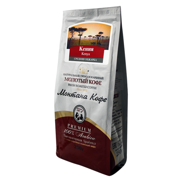 Кофе Монтана Кения 250 гр (крупный помол) Монтана кофе