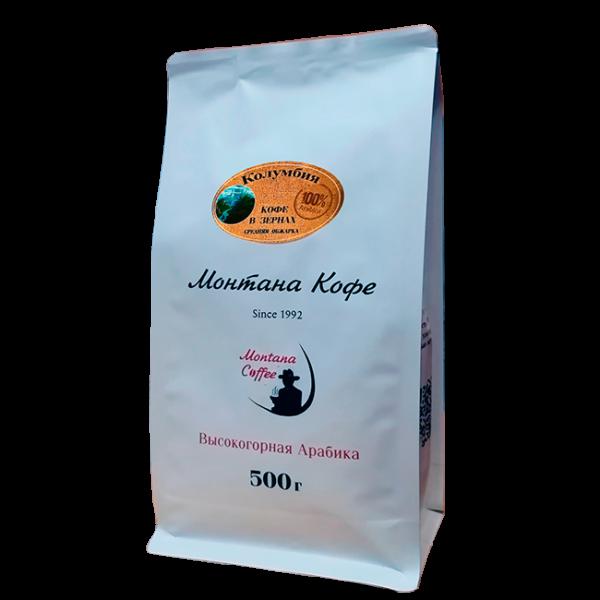 Кофе Монтана Колумбия 500 гр (в зернах) Монтана кофе