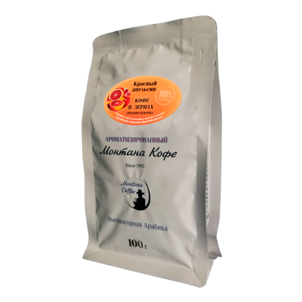 Кофе Монтана Красный апельсин 100 гр (в зернах) Монтана кофе