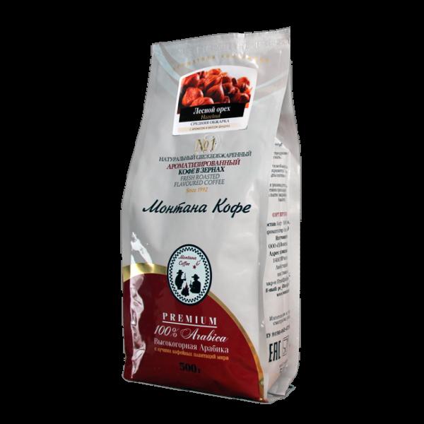 Кофе Монтана Лесной орех 500 гр (в зернах) Монтана кофе
