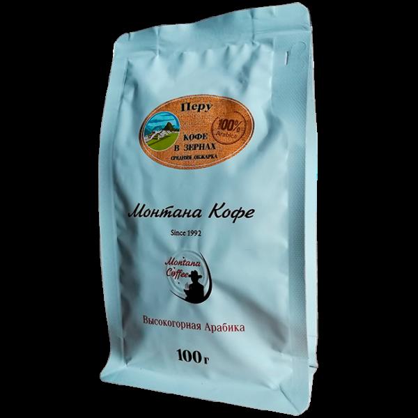 Кофе Монтана Перу 100 гр (в зернах) Монтана кофе