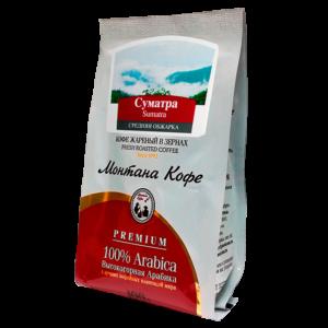 Кофе Монтана Суматра 100 гр (в зернах) Монтана кофе