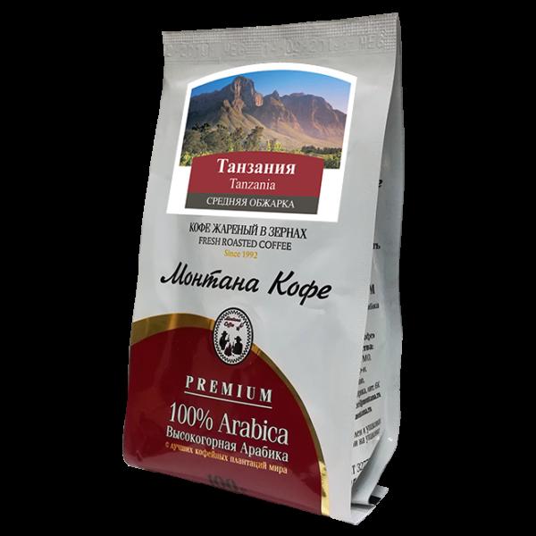 Кофе Монтана Танзания 100 гр (в зернах) Монтана кофе