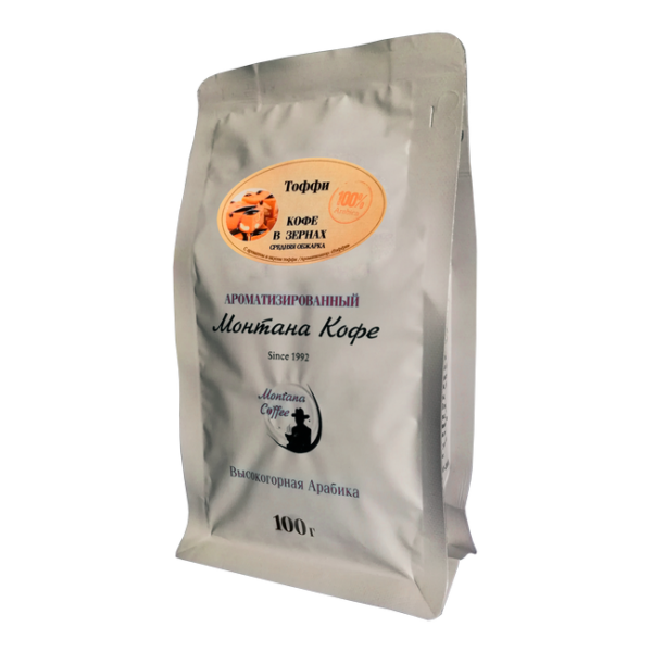 Кофе Монтана Тоффи 100 гр (в зернах) Монтана кофе