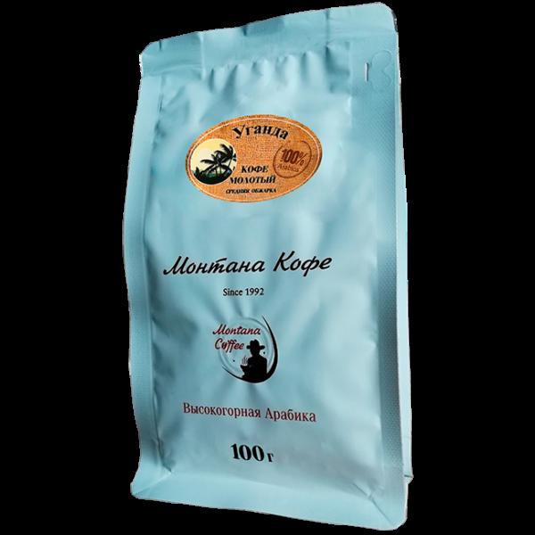 Кофе Монтана Уганда 100 гр (молотый) Монтана кофе