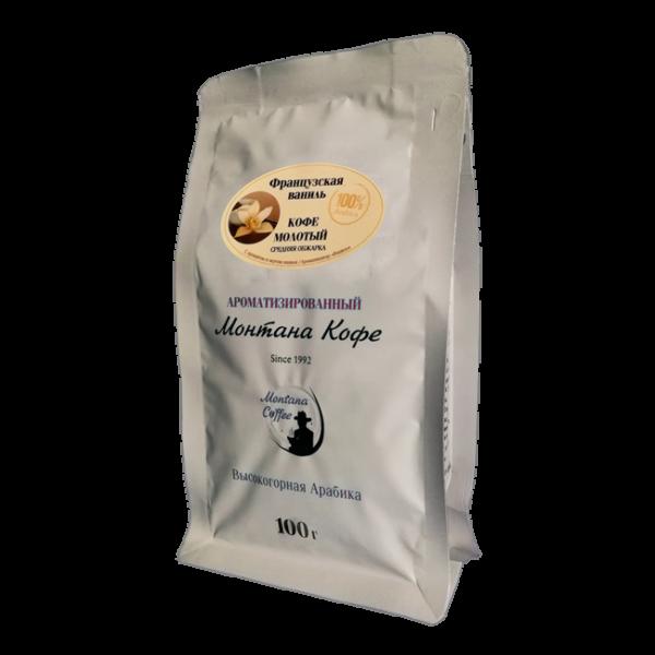 Кофе Монтана Французская ваниль 100 гр (молотый) Монтана кофе