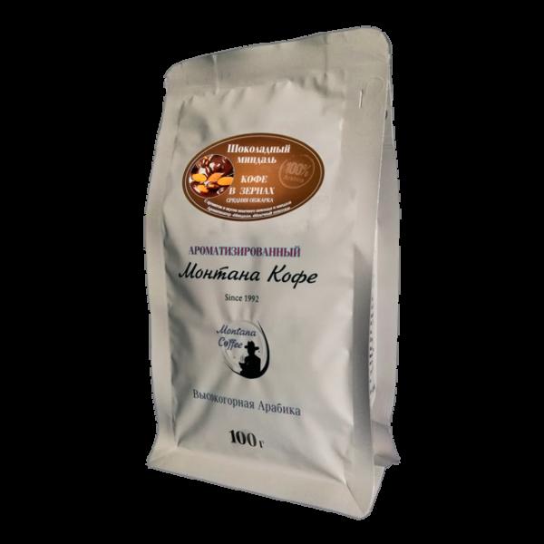 Кофе Монтана Шоколадный Миндаль 100 гр (в зернах) Монтана кофе