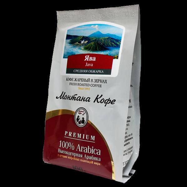 Кофе Монтана Ява 100 гр (в зернах) Монтана кофе