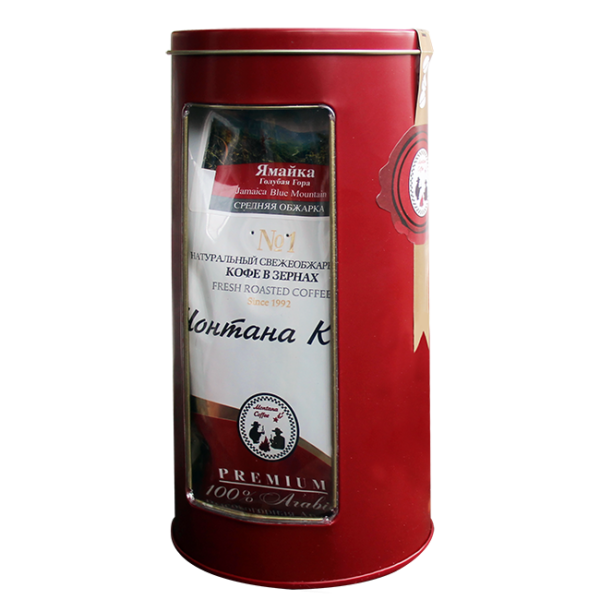 Кофе Монтана Ямайка Голубая Гора 150 гр (в зернах) в тубе Монтана кофе