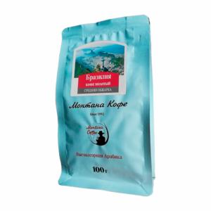 Кофе Montana Бразилия молотый 100 гр м/у
