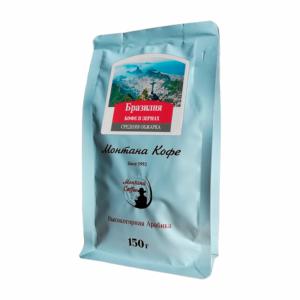 Кофе Montana Бразилия 150 гр зерно м/у