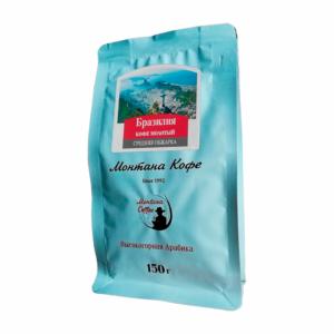 Кофе Montana Бразилия молотый 150 гр м/у