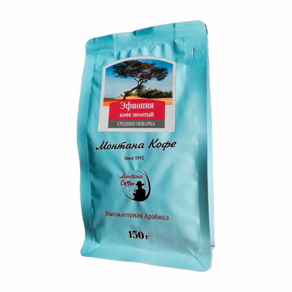 Кофе Montana Эфиопия молотый 150 гр м/у