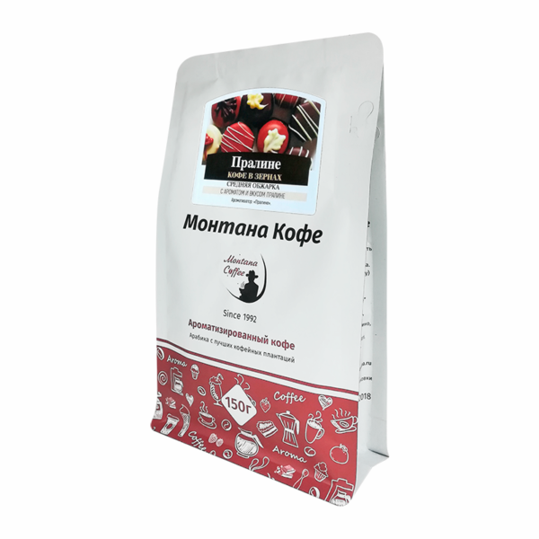 Кофе Montana Пралине в зернах 150 гр м/у