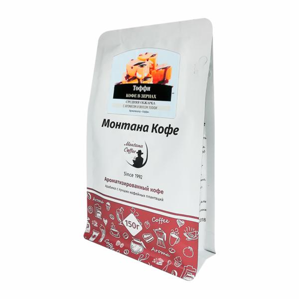 Кофе Montana Тоффи в зернах 150 гр м/у
