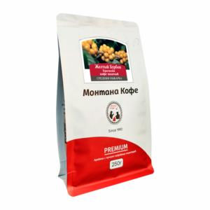Кофе Montana Желтый Бурбон молотый 250 гр м/у