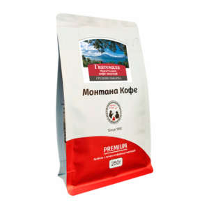 Кофе Montana Гватемала марагоджип молотый 250 гр м/у