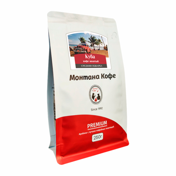 Кофе Montana Куба молотый 250 гр м/у