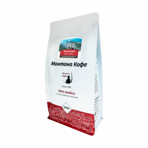 Кофе Montana Бразилия 500 гр зерно м/у