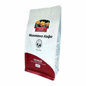Кофе Montana Бразилия Желтый Бурбон в зернах 500 гр м/у