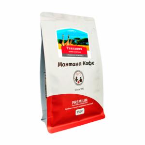 Кофе Montana Танзания в зернах 150 гр м/у
