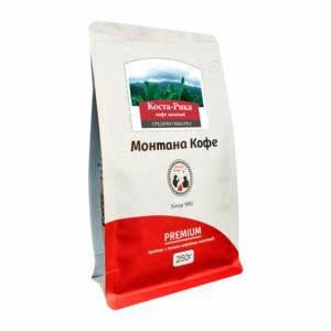Кофе Montana Коста-Рика молотый 250 гр м/у