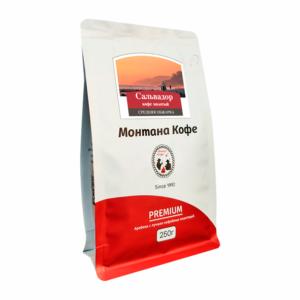 Кофе Montana Сальвадор молотый 250 гр м/у