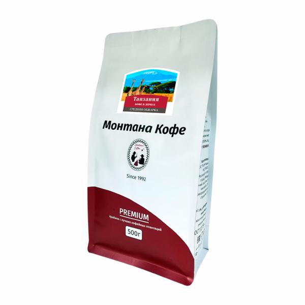 Кофе Montana Танзания в зернах 500 гр м/у