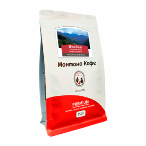 Кофе Montana Ямайка Голубая Гора в зернах 150 гр м/у