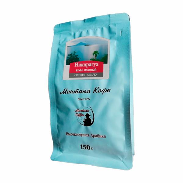 Кофе Montana Никарагуа молотый 150 гр м/у