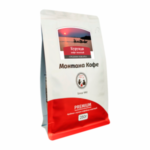 Кофе Montana Бурунди молотый 250 гр м/у