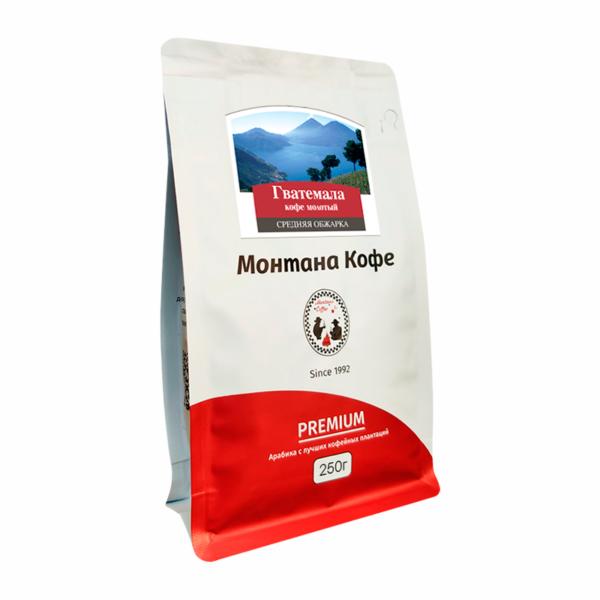 Кофе Montana Гватемала молотый 250 гр м/у