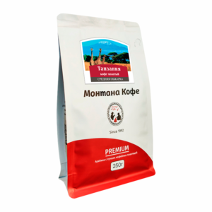 Кофе Montana Танзания молотый 250 гр м/у