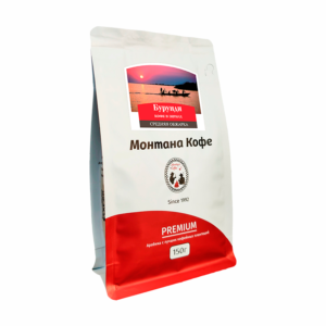 Кофе Montana Бурунди в зернах 150 гр м/у