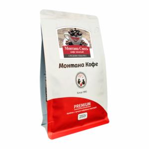 Кофе Montana Монтана смесь молотый 250 гр м/у