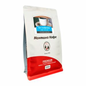Кофе Montana Декаф (без кофеина) молотый 250 гр м/у