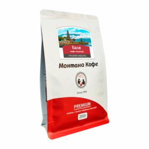 Кофе Montana Бали молотый 250 гр м/у